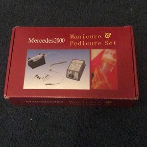 Mercedes2000 manicure and pedicure drill
